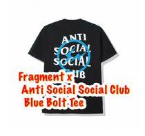 ANTI SOCIAL SOCIAL CLUB Crew Neck Unisex Street Style Collaboration Cotton