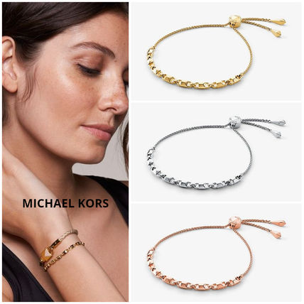 Casual Style Chain Silver Office Style 14K Gold