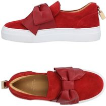 BUSCEMI Suede Low-Top Sneakers