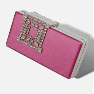 Street Style 2WAY Leather Elegant Style Clutches