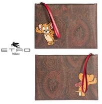 ETRO Paisley Casual Style Unisex Collaboration Bag in Bag