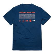 THE NORTH FACE More T-Shirts Unisex Street Style Cotton Short Sleeves 14