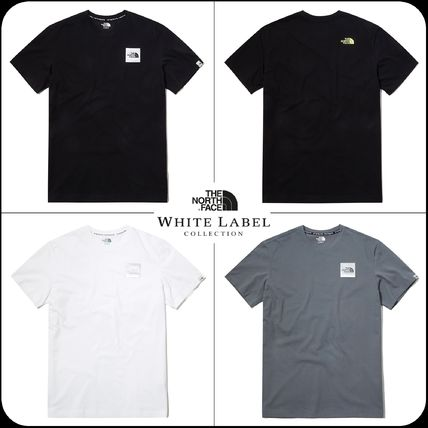 THE NORTH FACE More T-Shirts Unisex Street Style Cotton Short Sleeves Oversized