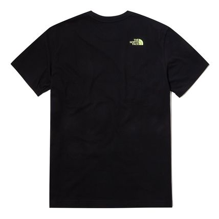 THE NORTH FACE More T-Shirts Unisex Street Style Cotton Short Sleeves Oversized 3