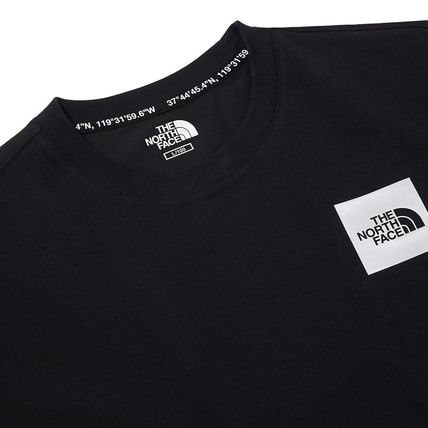 THE NORTH FACE More T-Shirts Unisex Street Style Cotton Short Sleeves Oversized 4