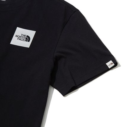 THE NORTH FACE More T-Shirts Unisex Street Style Cotton Short Sleeves Oversized 5