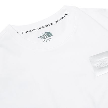 THE NORTH FACE More T-Shirts Unisex Street Style Cotton Short Sleeves Oversized 9