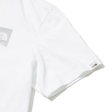 THE NORTH FACE More T-Shirts Unisex Street Style Cotton Short Sleeves Oversized 10