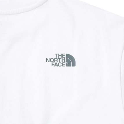 THE NORTH FACE More T-Shirts Unisex Street Style Cotton Short Sleeves Oversized 11