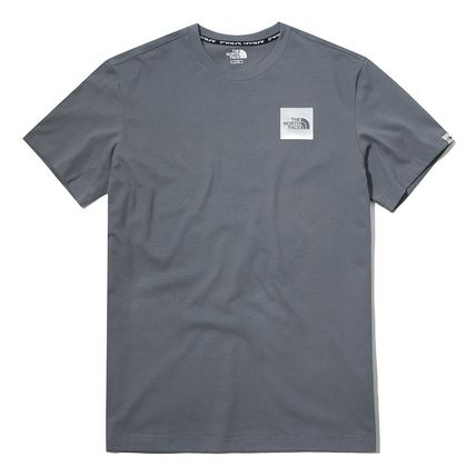 THE NORTH FACE More T-Shirts Unisex Street Style Cotton Short Sleeves Oversized 12