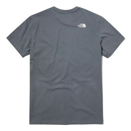 THE NORTH FACE More T-Shirts Unisex Street Style Cotton Short Sleeves Oversized 13