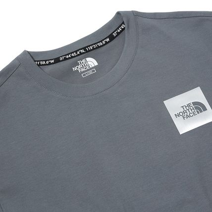 THE NORTH FACE More T-Shirts Unisex Street Style Cotton Short Sleeves Oversized 14
