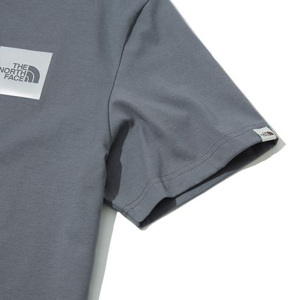 THE NORTH FACE More T-Shirts Unisex Street Style Cotton Short Sleeves Oversized 15