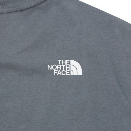 THE NORTH FACE More T-Shirts Unisex Street Style Cotton Short Sleeves Oversized 16