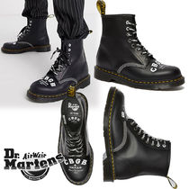 Dr Martens 1460 Lace-up Casual Style Unisex Street Style Plain Leather