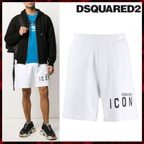 D SQUARED2 Cotton Joggers Shorts