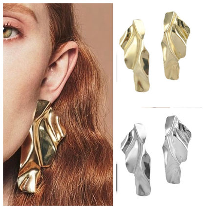 Party Style Brass 14K Gold Elegant Style Earrings