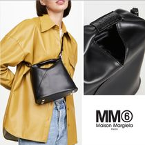 MM6 Maison Margiela Casual Style Street Style Leather Party Style Office Style