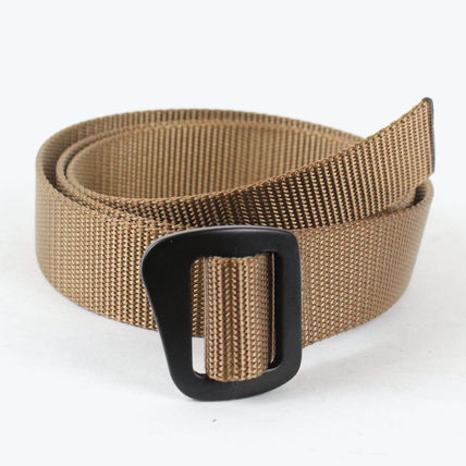 Unisex Nylon Street Style Long Belt Belts
