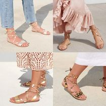 Loeffler Randall Casual Style Suede Leather Sandals Sandal
