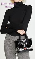 Alice+Olivia Casual Style 2WAY Party Style Crystal Clear Bags
