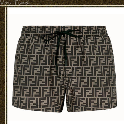 FENDI Swim Shorts