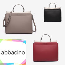 Abbacino A4 2WAY Office Style Formal Style  Totes