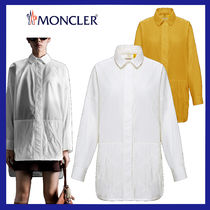 MONCLER MONCLER GENIUS Casual Style Collaboration Long Sleeves Plain Cotton Long