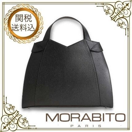 Casual Style Calfskin Plain Office Style Elegant Style