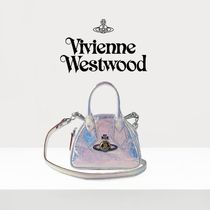 Vivienne Westwood Casual Style Plain Party Style Crossbody Logo Shoulder Bags