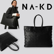 NA-KD Casual Style A4 Office Style Elegant Style Handbags