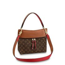 Louis Vuitton TUILERIES Monogram Casual Style Calfskin 3WAY Leather Elegant Style