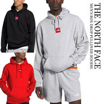 THE NORTH FACE Unisex Plain Logos on the Sleeves Logo Hoodies