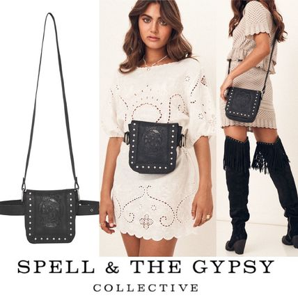 Casual Style 2WAY Leather Crossbody Hip Packs
