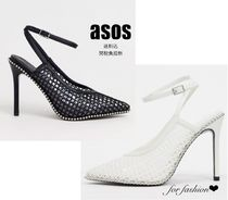 ASOS Plain Pin Heels Party Style Office Style Elegant Style