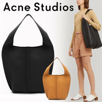 Ance Studios Casual Style Plain Leather Office Style Elegant Style