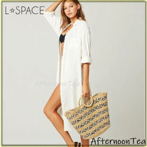 L Space 2WAY Straw Bags