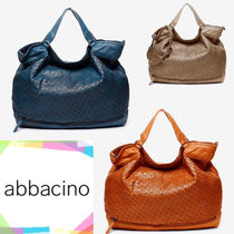 Abbacino Casual Style 2WAY Leather Elegant Style Totes