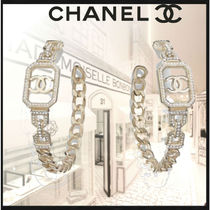 CHANEL Costume Jewelry Casual Style Chain Party Style Elegant Style