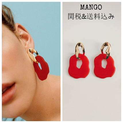 Casual Style Party Style Elegant Style Dark Brown Earrings