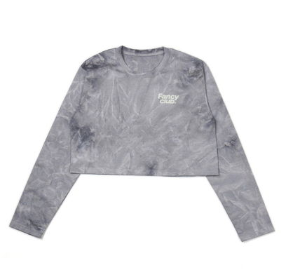 Short Long Sleeves Cotton Long Sleeve T-shirt Cropped