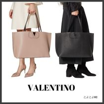 VALENTINO SHOPPING Casual Style Unisex Bag in Bag A4 Plain Office Style