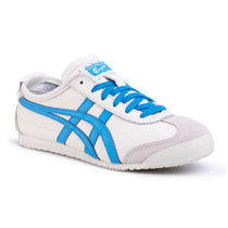 Onitsuka Tiger Unisex Blended Fabrics Street Style Leather Low-Top Sneakers