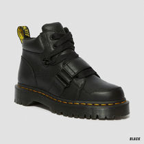 Dr Martens Platform Round Toe Lace-up Casual Style Unisex