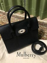 Mulberry Bayswater 2WAY Plain Leather Office Style Handbags