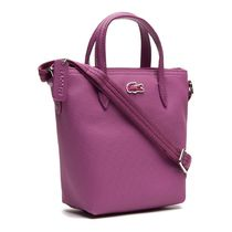 LACOSTE Casual Style 2WAY Plain PVC Clothing Office Style Crossbody