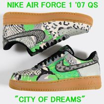 Nike AIR FORCE 1 Camouflage Leopard Patterns Other Animal Patterns Python