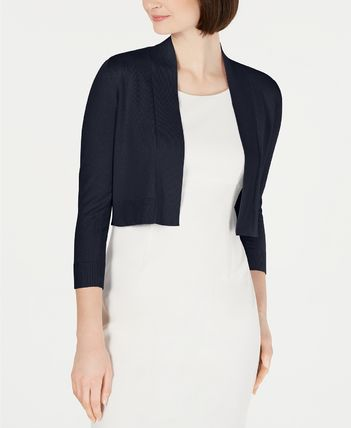 Calvin Klein Short Casual Style Cropped Plain Cotton Party Style