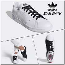 adidas STAN SMITH Casual Style Street Style Bi-color Leather Low-Top Sneakers