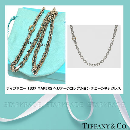 Unisex Street Style Plain Silver Necklaces & Chokers